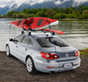 Roof Racks are needed to carry canoes & kayaks safely on the roof of your car