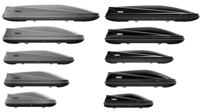 thule touring roof box series 100 200 600 700 780. Black Bedroom Furniture Sets. Home Design Ideas